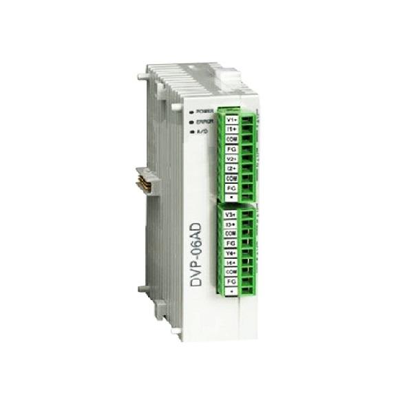 کارت 6 ورودی آنالوگ دلتا مدل DVP06AD-S