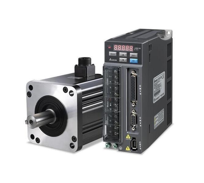 پک کامل سروو 0.75KW 1000RPM ساده سری B2 دلتا